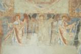 Scuola campana-cassinese sec. XI, Affresco con angeli