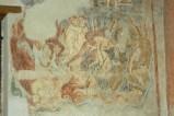 Scuola campana-cassinese sec. XI, Affresco con i dannati