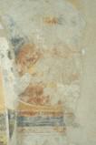 Scuola campano-cassinese sec. XI, Affresco con santo ignoto