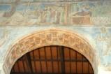 Scuola campano-cassinese sec. XI, Affresco decorativo 9/15
