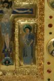 Orefice meridionale sec. XII, Smalto con la Madonna