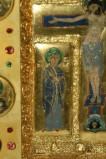 Orefice meridionale sec. XII, Smalto con la San Giovanni Evangelista
