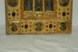 Orefice meridionale sec. XII, Lastrine in oro e pietre dure 3/4