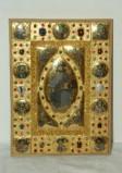 Orefice meridionale sec. XII, Evangelario di Alfano con Cristo nella mandorla