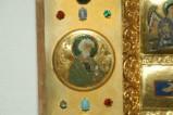 Orefice meridionale sec. XII, Smalto con Sant'Andrea