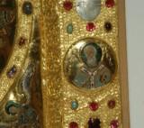 Orefice meridionale sec. XII, Lastrina con San Nicola