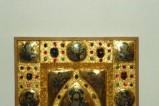 Orefice meridionale sec. XII, Lastrina in oro e pietre preziose 1/4
