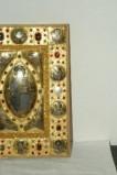 Orefice meridionale sec. XII, Lastrina in oro e pietre preziose 2/4