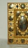 Orefice meridionale sec. XII, Lastrina in oro e pietre preziose 4/4