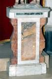 Ambito campano (1788), Base in marmo