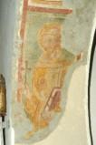 Ambito campano sec. XIV, Affresco con San Francesco