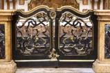 Bott. bolognese sec. XVII, Cancello d'altare del transetto sinistro