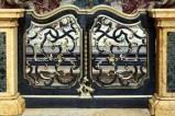 Bott. bolognese sec. XVII, Cancello d'altare del transetto destro