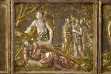 Bott. Bartoli Cornacchia (1972), Bassorilievo di Gesù Cristo aiutato dal cireneo