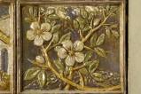 Bott. Bartoli Cornacchia (1972), Bassorilievo con fiori di mandorlo