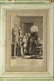 Alessandri I. (1789), Stampa con San Filippo Neri e i fanciulli