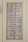 Bottega romagnola (1810), Lapide della transizione delle ossa di San Terenzio