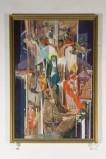 Bottega romagnola sec. XX, Cornice di dipinto con Conversione di Sant'Agostino