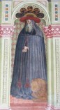 Alberti A. sec. XV, Affresco con S. Girolamo