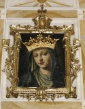 Bott. emiliana (1915), Cornice del dipinto della Madonna dell'Aiuto