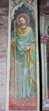 Alberti A. sec. XV, Affresco con S. Giacomo apostolo