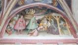 Alberti A. sec. XV, Affresco con Adorazione dei Magi