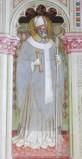 Alberti A. sec. XV, Affresco con S. Ambrogio