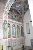 Alberti A. sec. XV, Decorazione murale della Cappella di S. Martino