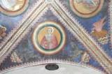 Alberti A. sec. XV, Affresco con S. Giovanni evangelista e l'aquila