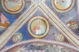 Alberti A. sec. XV, Affresco con S. Matteo evangelista e l'angelo