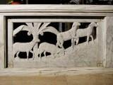 Adani C. (1946-49), Balaustra dell'altare della Madonna dell'Aiuto 2/3