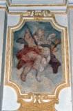 Androi G. G. (1713-1719), Cornice con foglia d'acanto arricciata