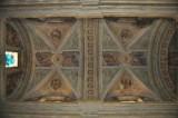 Albertella A. (1935), Dipinto murale con angeli e santi entro clipei 1/2