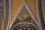 Albertella M. (1954), Dipinto murale con S. Giustina
