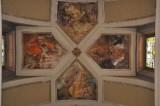 Albertella M. (1954), Dipinto murale con i Quattro Evangelisti