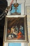 Ambito piacentino metà sec. XIX, Cornice di Via Crucis con croce 14/14