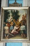 Achille L. metà sec. XIX, Gesù Cristo cade la prima volta