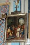 Ambito piacentino metà sec. XIX, Cornice di Via Crucis con croce 1/14