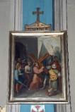 Ambito piacentino metà sec. XIX, Cornice di Via Crucis con croce 2/14