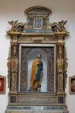 Acemano F. (1666), Ancona in legno scolpito dipinto dorato