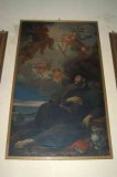 Ambito romagnolo sec. XVII, Cornice di dipinto con San Francesco Saverio