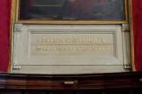 Ambito ravennate sec. XIX, Pannello con iscrizione San Pier Crisologo