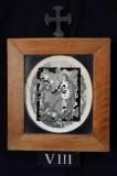 Ambito romano sec. XVIII, Cornice Gesù Cristo consola le donne