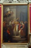 Camuccini V. sec. XIX, Dipinto Sant'Orso consacra la basilica da lui costruita