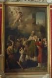 Serangeli G.G. sec. XIX, Dipinto San Severo scende al sepolcro della moglie