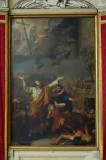 Collignon G. sec. XIX, Dipinto Sant'Apollinare fa precipitare il tempio