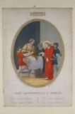 Agricola L. - Canali G. sec. XIX, Via crucis con Gesù condannato a morte