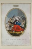 Agricola L. - Gabrieli A. sec. XIX, Via crucis con Gesù cade la prima volta