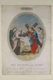 Agricola L. - Bellavitis G. sec. XIX, Via crucis con Gesù incontra la Madonna