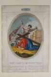 Agricola L. - Canali G. sec. XIX, Via crucis con Gesù cade la seconda volta